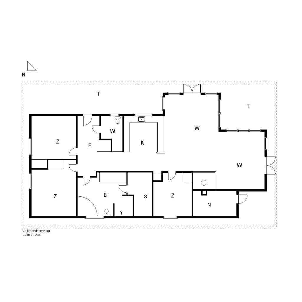 Ferienhaus 1300 - Rylevej 21